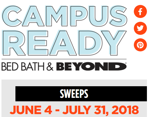 Campus Ready Sweepstakes – Win $42,366.21 Prizes