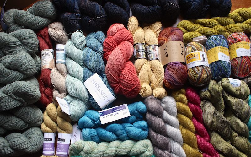 Colorful Candy Shop Yarn Giveaway – Win Party Of 5 Yarn