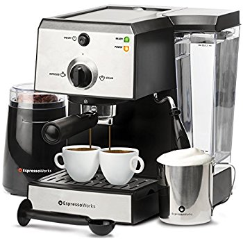 Espresso Machine Set – Win $323 Electric Coffee Grinder
