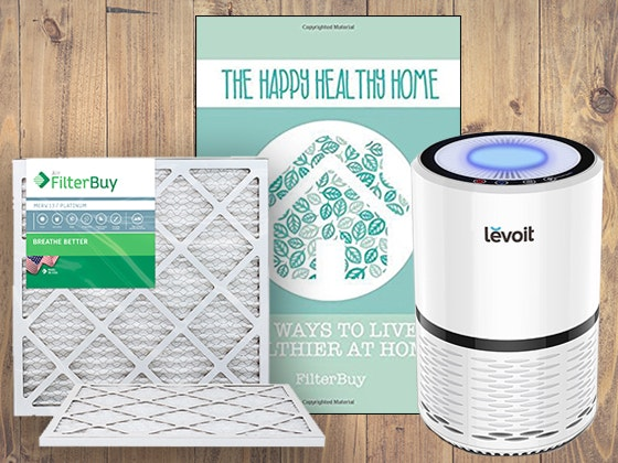 FilterBuy Healthy Home Prize Pack Sweepstakes – Win $820 Prizes