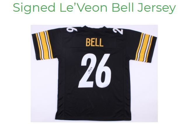 Win a signed LeVeon Bell Jersey – Footclan Giveaway