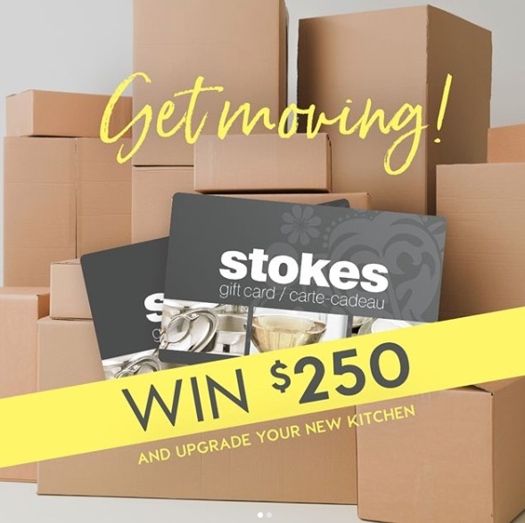 Free Gift Card Contest – Win $250 Stokes Gift Card