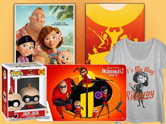 Incredibles 2 Fandango Sweepstakes – Win $335 Gift Card