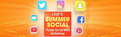 LIVE With Kelly and Ryan Summer Social  Getaway Contest –  Win A Trip