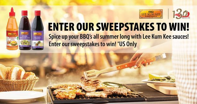 Win Gift Card – Lee Kum Kee Anniversary Sweepstakes