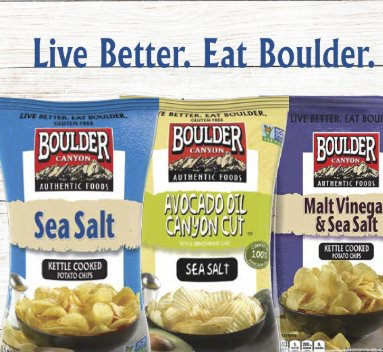 Win Boulder Canyon Chips For A Year – Win $225 Snacks