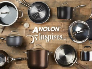 2018 Anolon Inspires Sweepstakes – Win $499 An Anolon Cookware Set