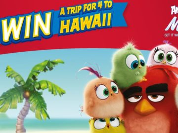 Angry Birds Sweepstakes – Win $6,250 5-day/4-night Trip