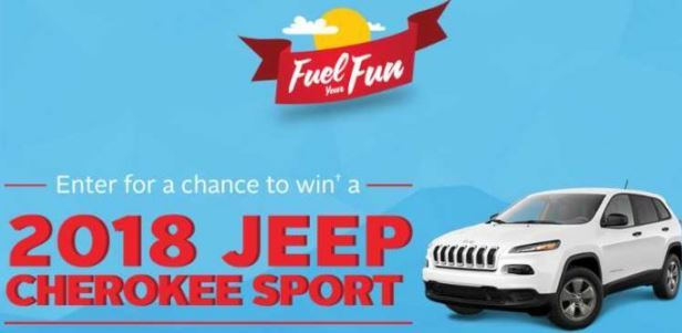 Canadian Tire Bank Fuel Your Fun Contest 2018 – Win a 2018 Jeep Cherokee Sport