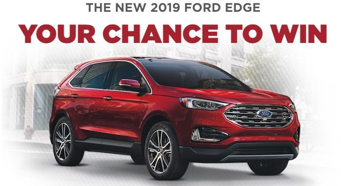 Costco You Could Win a 2019 Ford Edge Contest – Win A 2019 Edge Titanium AWD