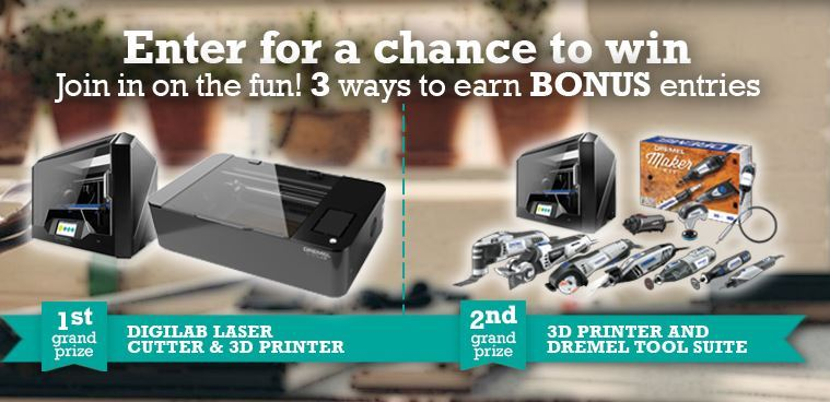 Dremel Maker Days Sweepstakes  – Enter to Win Daily Prizes and Grand Prizes