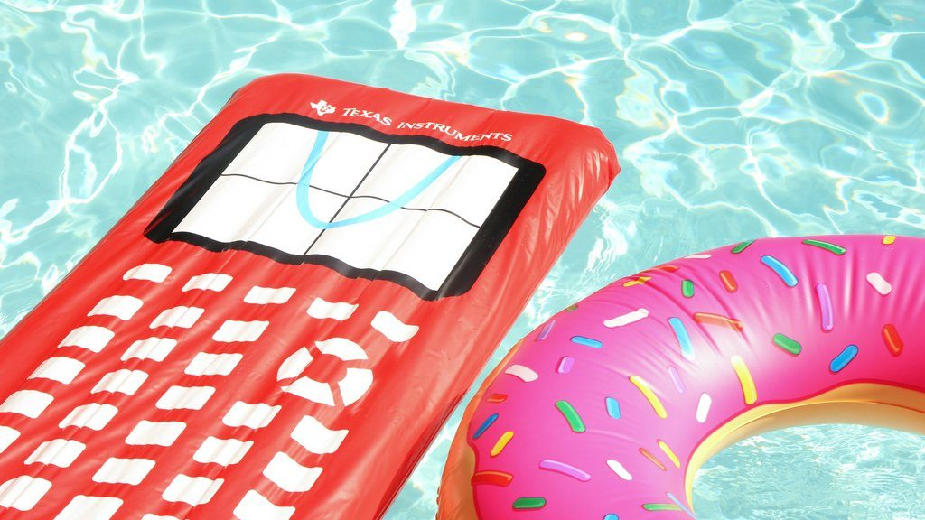 Enter for a Chance to Win a TI-84 Plus CE – Win $1,500 Instruments pool party package,
