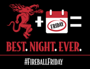 Fireball Fridays Instant Win Game – Win $20,000 AMC Theatres e-Gift Card