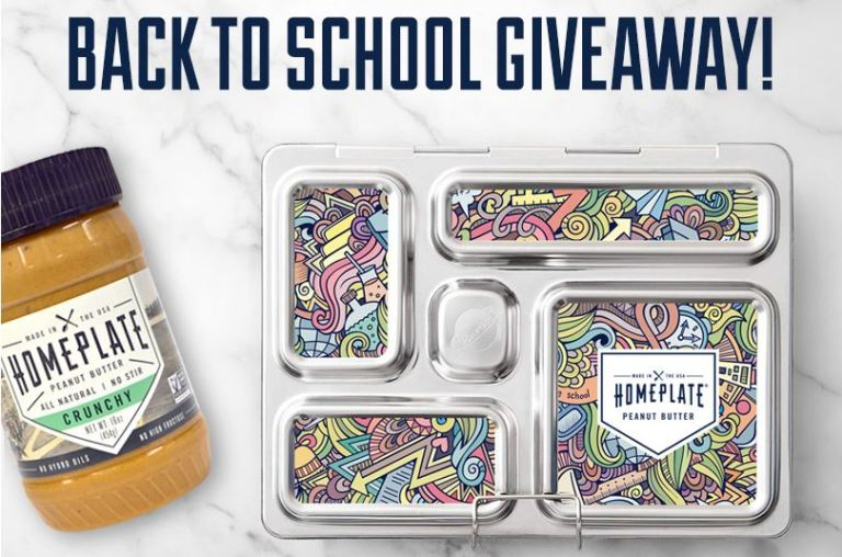 HomePlate Peanut Butter Back to School Giveaway – Win A PlanetBox Lunchbox