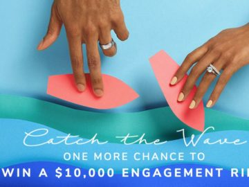 James Allen Catch The Wave Round Two Giveaway – Win a $10,000 Engagement Ring