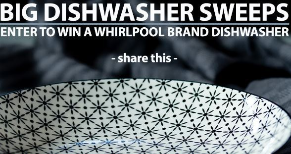 Kitchen Authority The Big Whirlpool Dishwasher Sweepstakes – Win Whirlpool Dishwashers