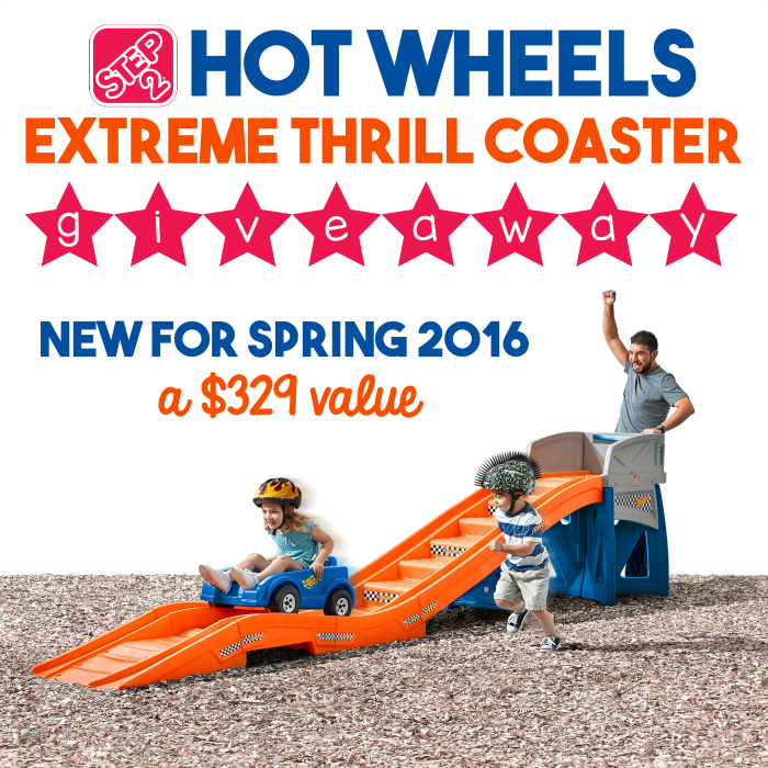 Step2 Hot Wheels Extreme Thrill Coaster – Win $329 Step2 Hot Wheels Extreme Thrill Coaster