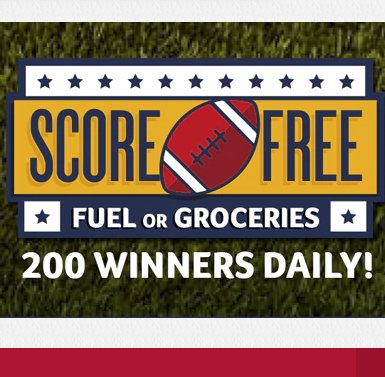Stock Up Fuel Up Sweepstakes – Win A $100 In Gas Gift Cards