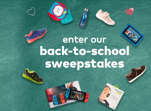 Stride Rite Back To School Sweepstakes 2018 – Win A year's worth of Free Shoes