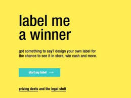 VitaminWater Label Me A Winner Contest – Win $5,000 Check