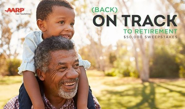 AARP Back on Track to Retirement Sweepstakes – Win $50,000 Check