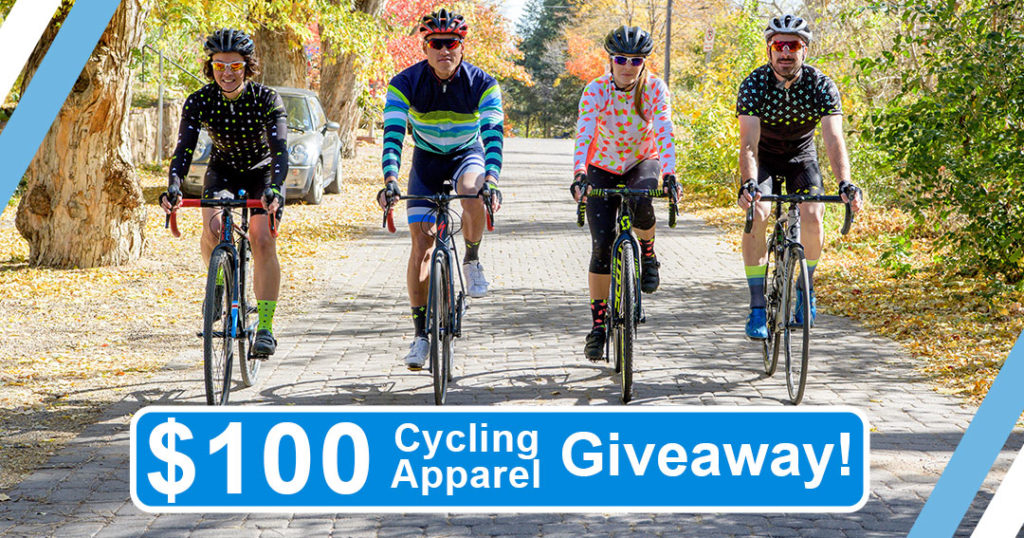 Apparel Gift Card Giveaway – Win A $100 Canari Cycling Gift Card