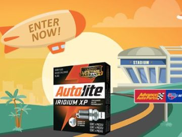 Autolite Advance Auto Parts DIY Sweepstakes – Win A Trip To Santa Clara, CA