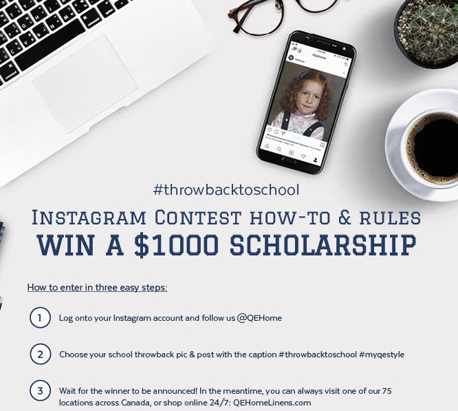 Back to School Scholarship – Win a $1,000 Cash Scholarship