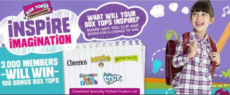 Costco Box Tops for Education Inspire Imagination Instant Win Game – Win Game