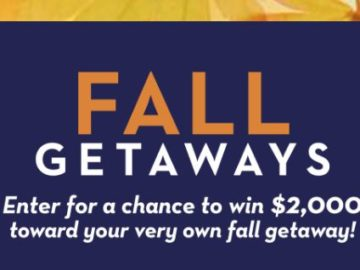 Midwest Living Fall Getaway Sweepstakes – Win $2,000 Cash