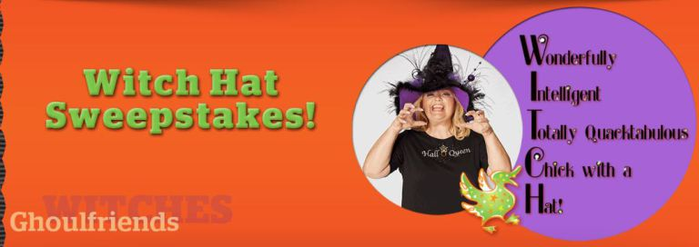 Quacker Factory Witch Hat Sweepstakes 2018 – Win A Decorated Witch Hat
