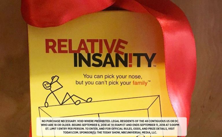 Relative Insanity On KLG and Hoda Sweepstakes – Win A PlayMonster's Relative Insanity Board Game