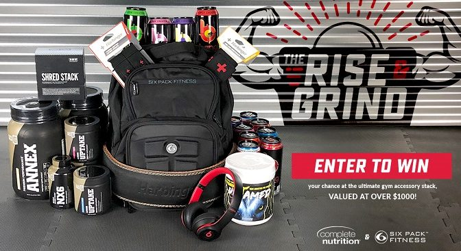 Rise and Grind Giveaway – Win $100 ONE black Six Pack Fitness Expedition