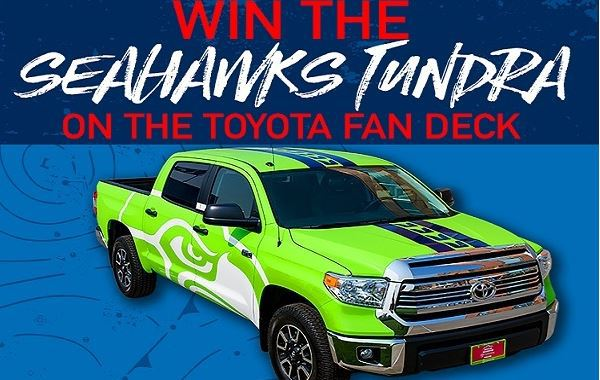 Toyota giveaways