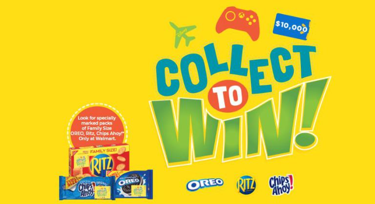 Walmart Collect Snack Instant Win Game – Win $10,000 Walmart Gift Card