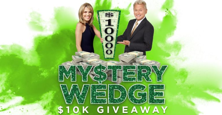 Wheel of Fortune My$tery Wedge $10K Giveaway III Sweepstakes – Win $10,000 Cash Prizes