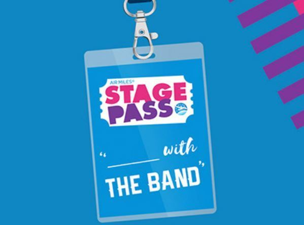Air Miles Stage Pass With The Band Contest-Win a trip to Halifax and a foodie tour