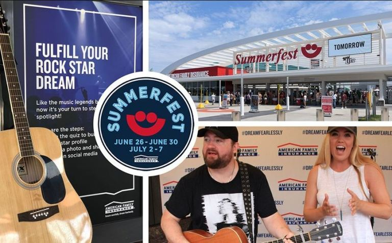 Amfam Ultimate Summerfest Fan Experience Sweepstakes-win a trip to Milwaukee