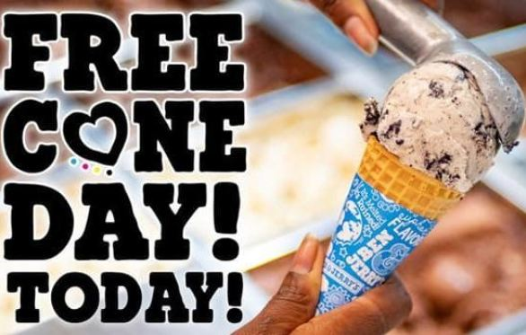 Ben And Jerry Free Cone Day Sweepstakes-Win A year of free ice cream