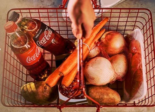 Coca-Cola Groceries For A Year Sweepstakes-win $10500 check