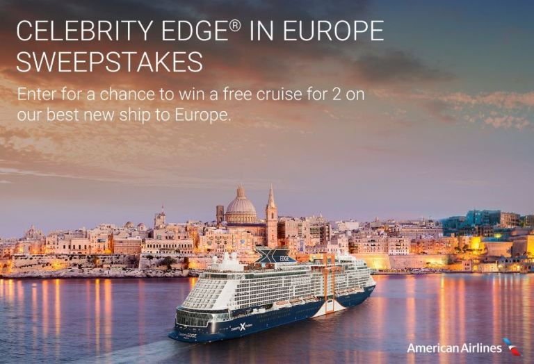 Cruise Critic Celebrity Edge Sweepstakes-win A 10-night cruise on the Celebrity Edge