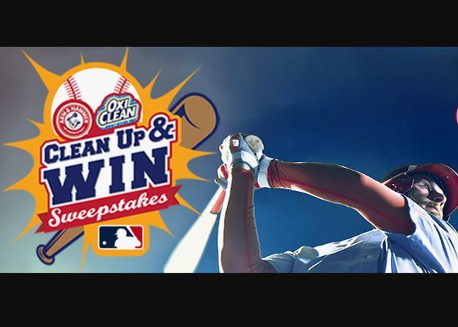 MLB Clean Up and Win Sweepstakes-win tickets to this year's 2019 MLB All-Star Game
