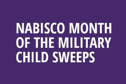 NABISCO Month of the Military Child Sweepstakes-Win $5,000 for education
