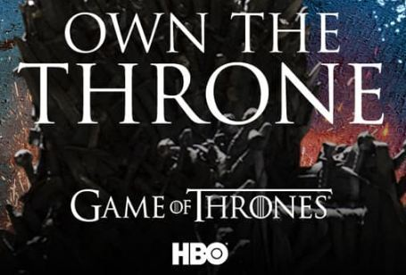 Game of Thrones Own The Throne Sweepstakes by AT&T Thanks