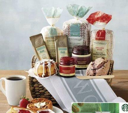 Breakfast Bakery Gift Basket Sweepstakes