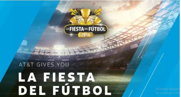 Win La Fiesta Del Futbol Box - AT&T Futbol Fiesta Box Sweepstakes