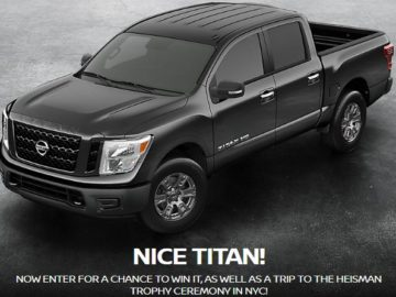 The Nissan Heisman House Sweepstakes