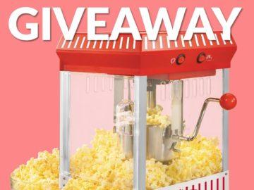 Win a Nostalgic Popcorn Maker (Facebook)