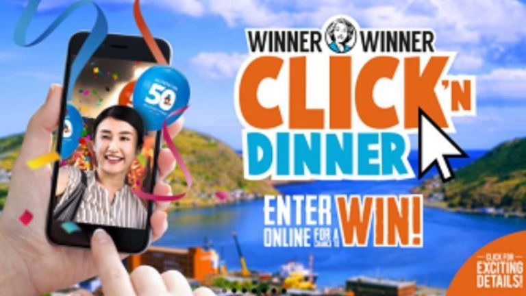 Mary Brown's Winner Winner Click'n Dinner Contest - Win A Trip