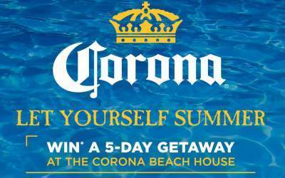 Corona Let Yourself Summer Sweepstakes - Win A Trip